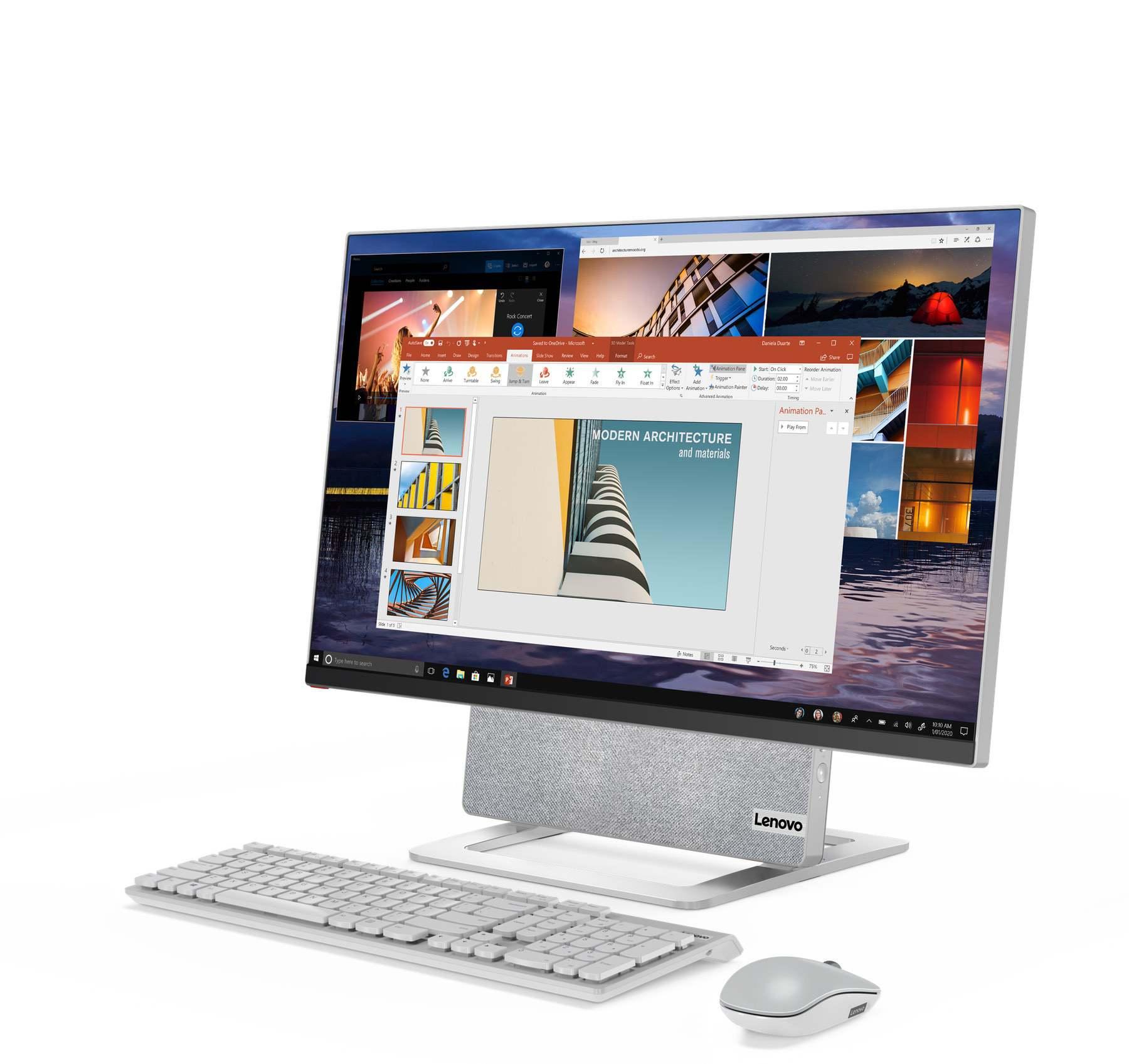 Lenovo Yoga AIO 7 und neue Monitore an der CES 2021 vorgestellt