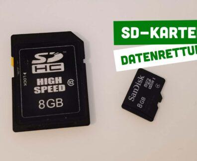 SD-Karten Datenrettung