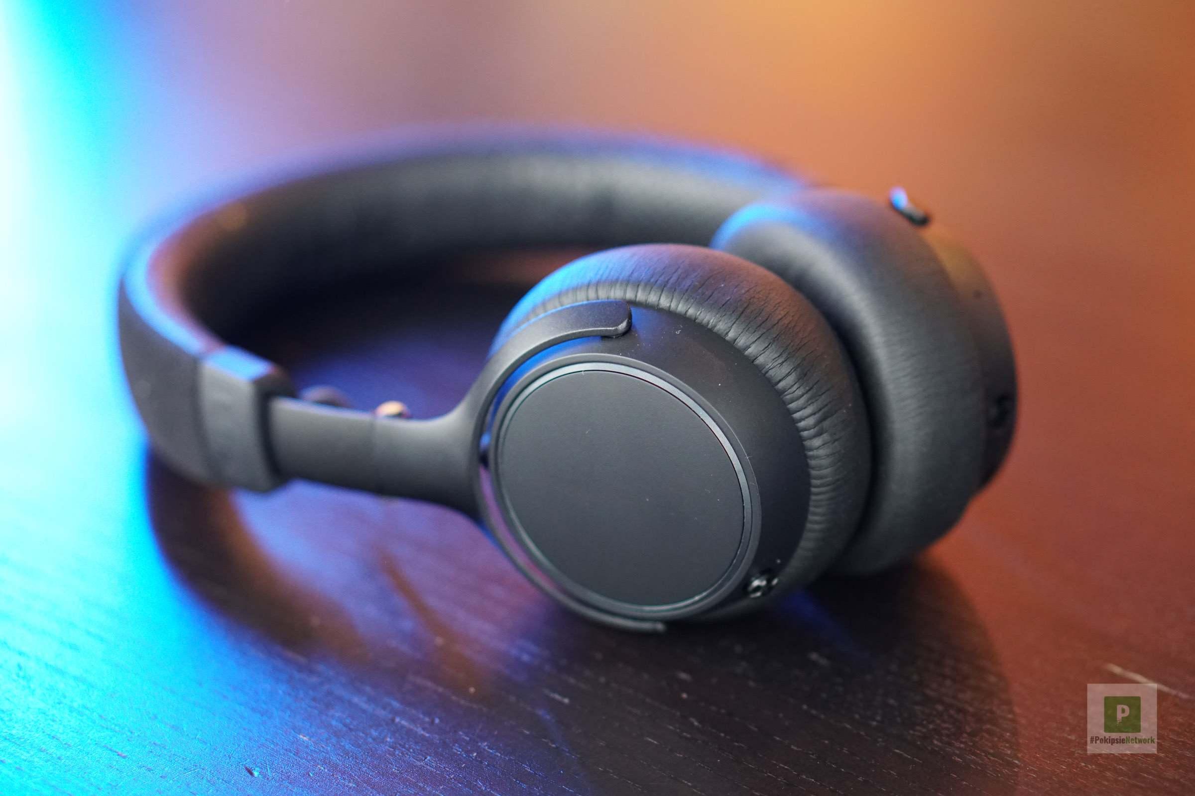 Der Kopfhörer abgelegt