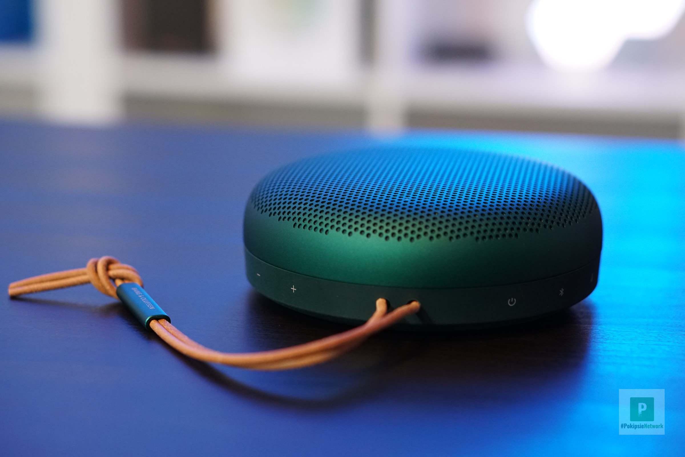Der grüne A1 Bluetooth Lautsprecher