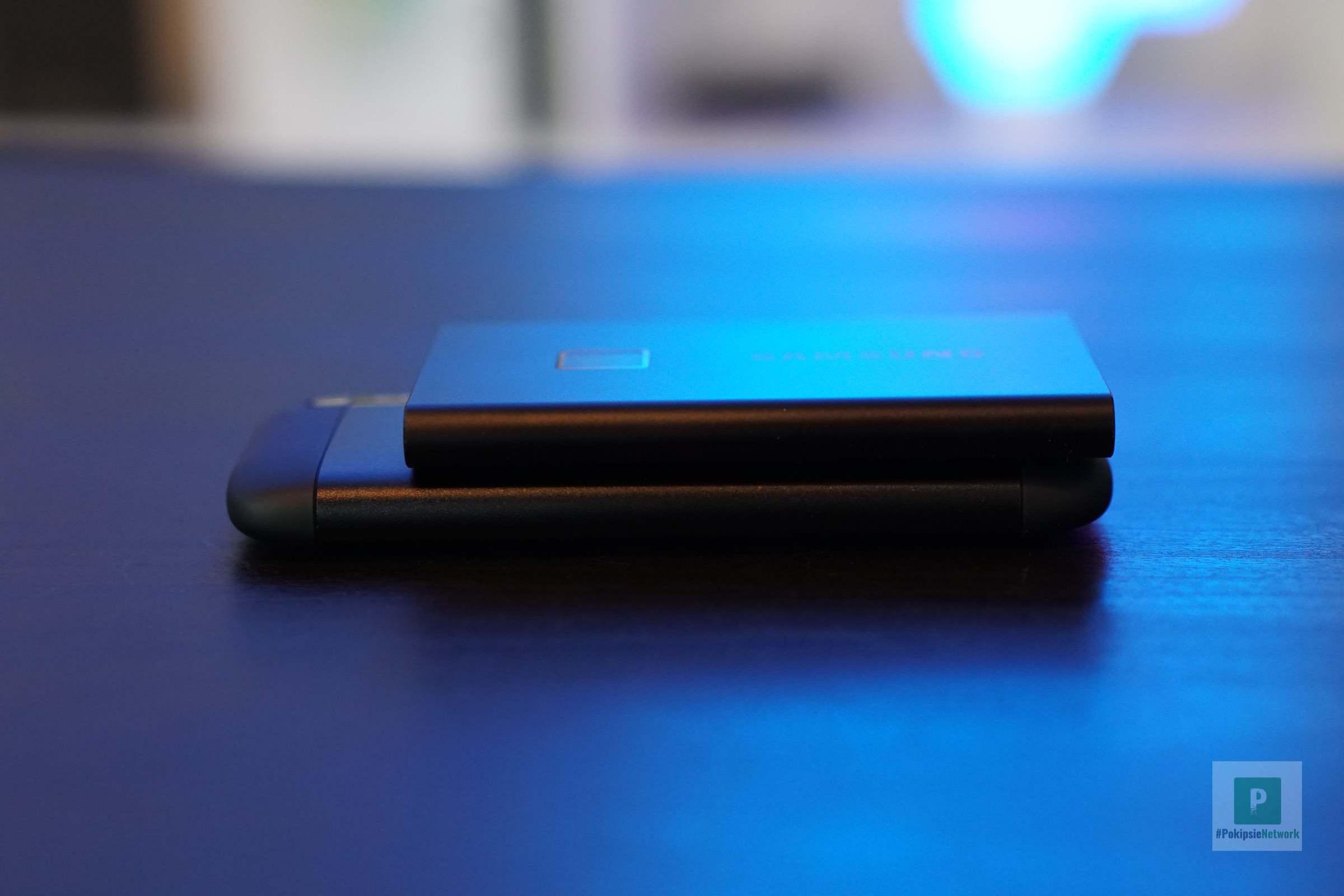 Grössenvergleich mit der SSD T7