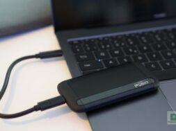 Schneller, externer SSD-Speicher