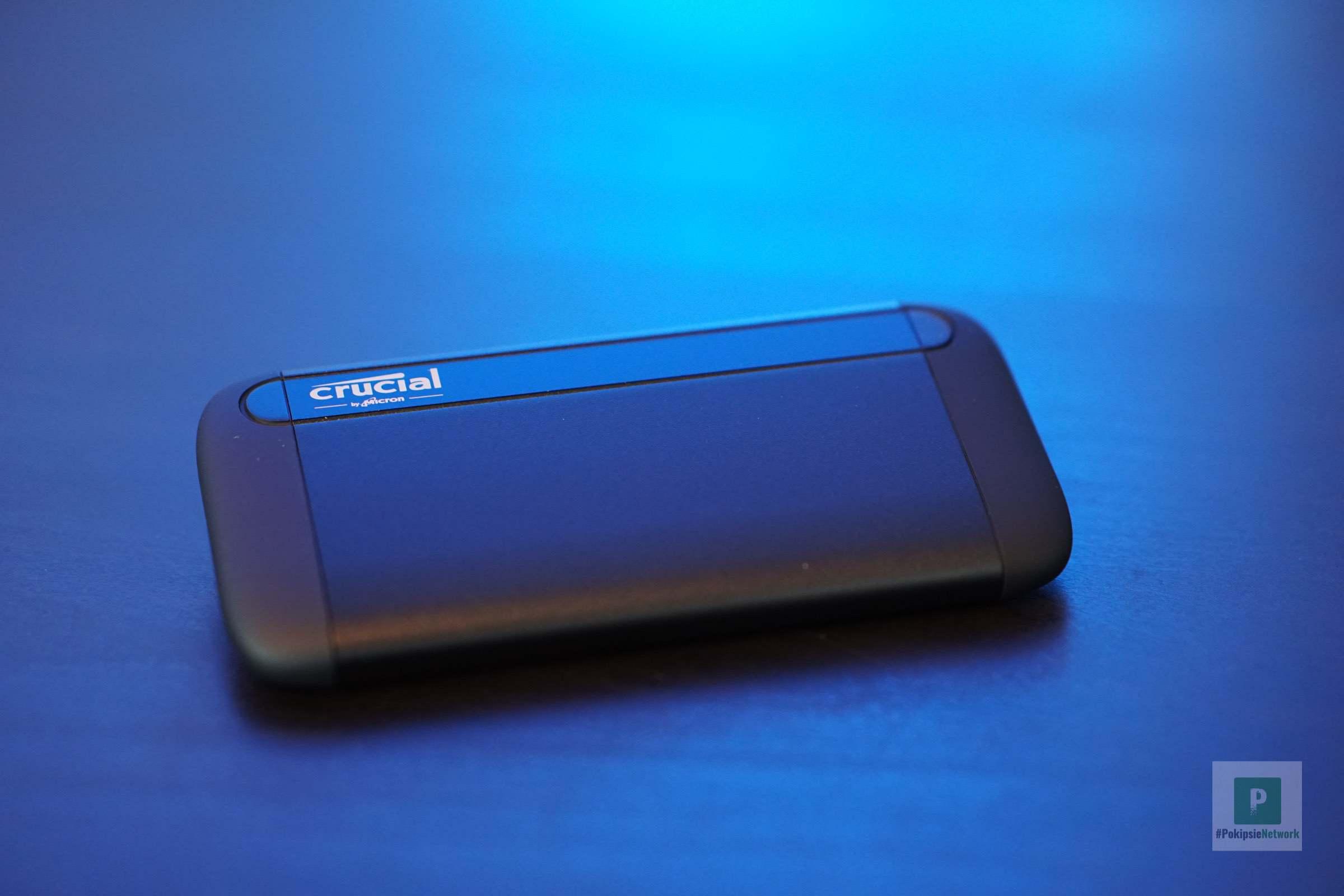 Die Crusial SSD