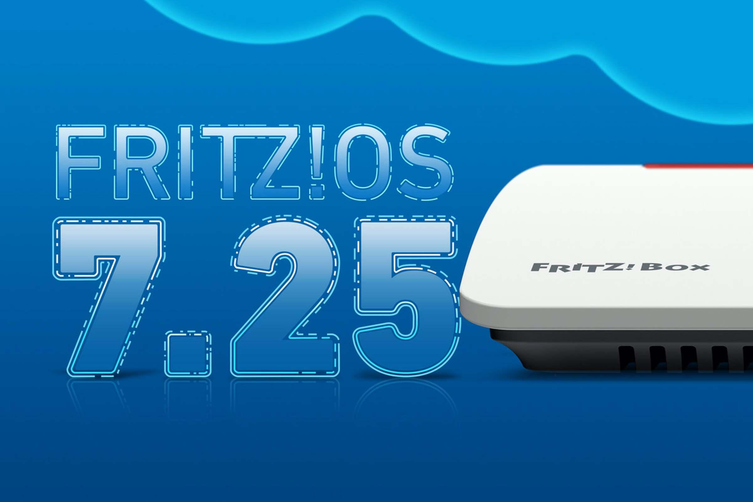 FRITZ!OS 7.25 für die FRITZ!Box 7590