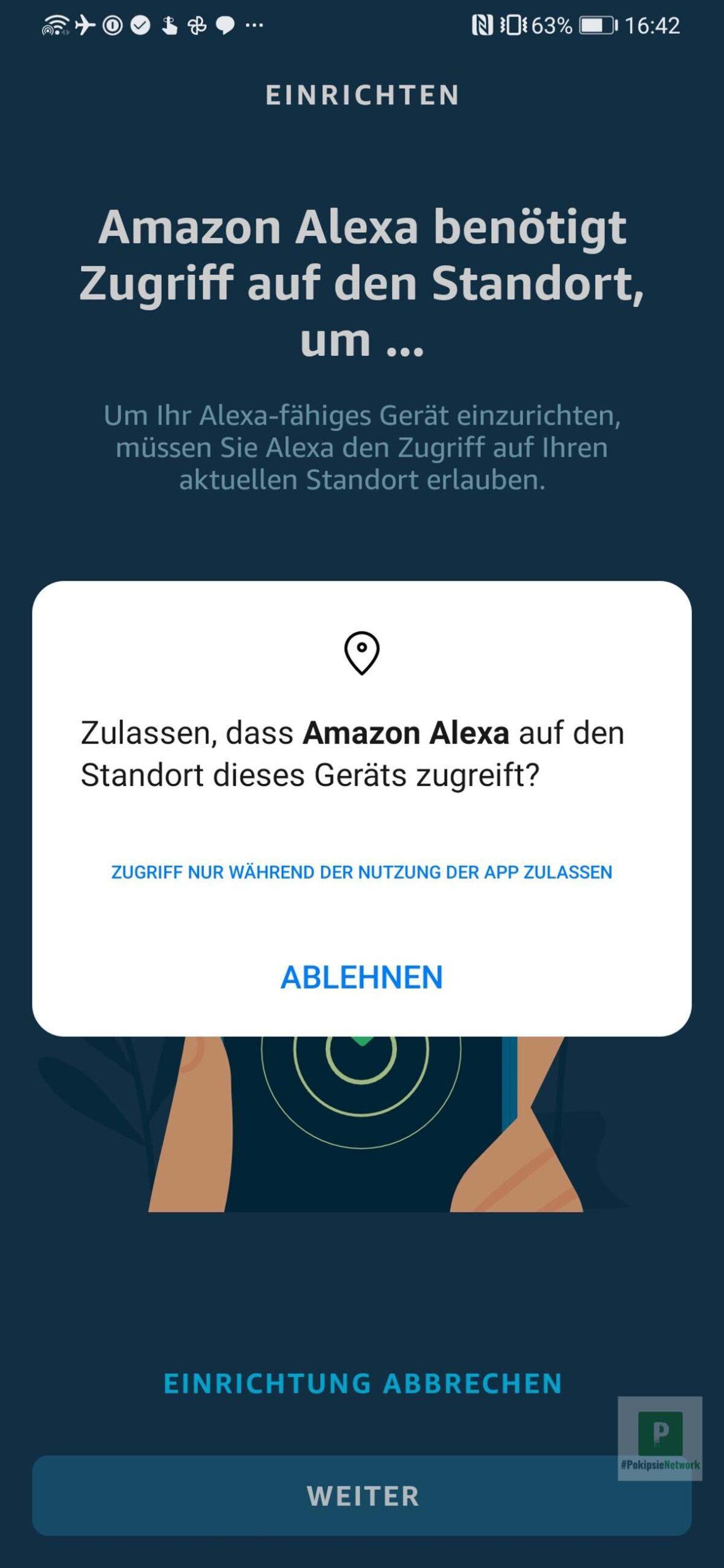 Dein Standort möchte Amazon auch wissen