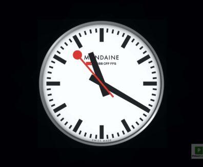 Mondaine iOS Uhr