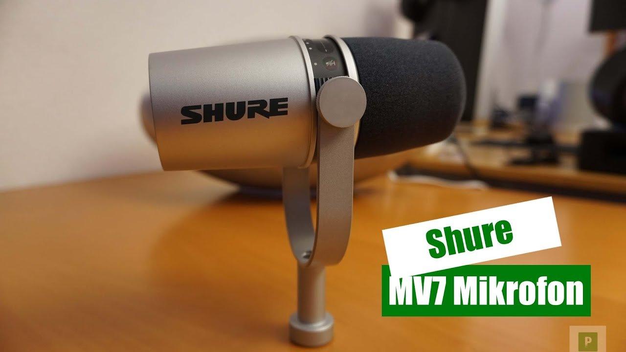 Video – Shure MV7