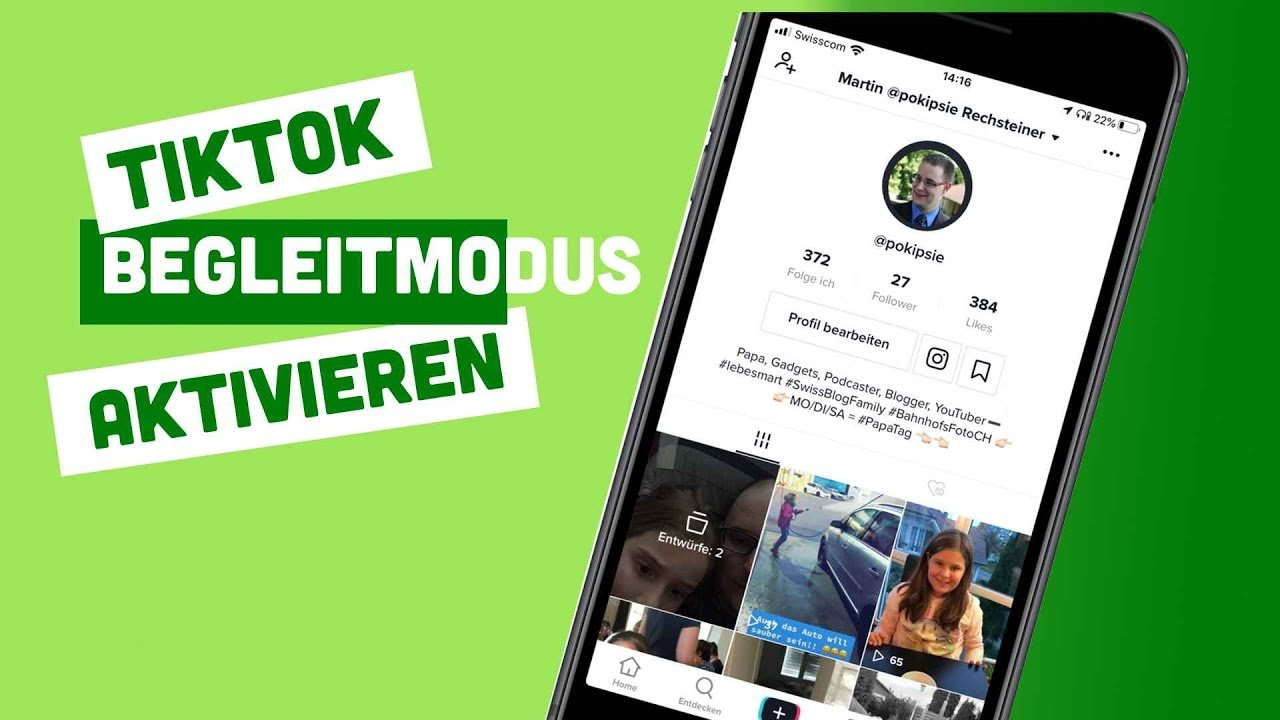Video – TikTok Begleiter Modus