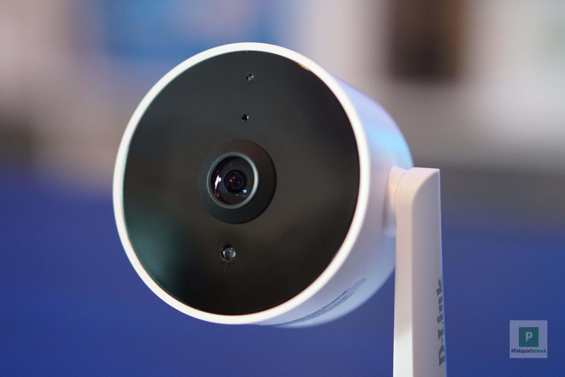 Die Kameralinse und Sensoren