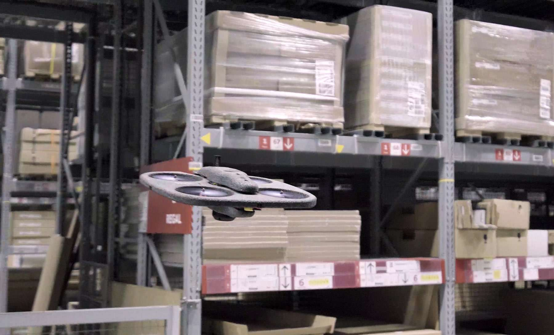 IKEA will mit Drohnen Inventurprüfung durchführen