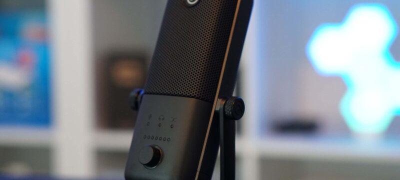 Streaming und Podcast Mikrofon