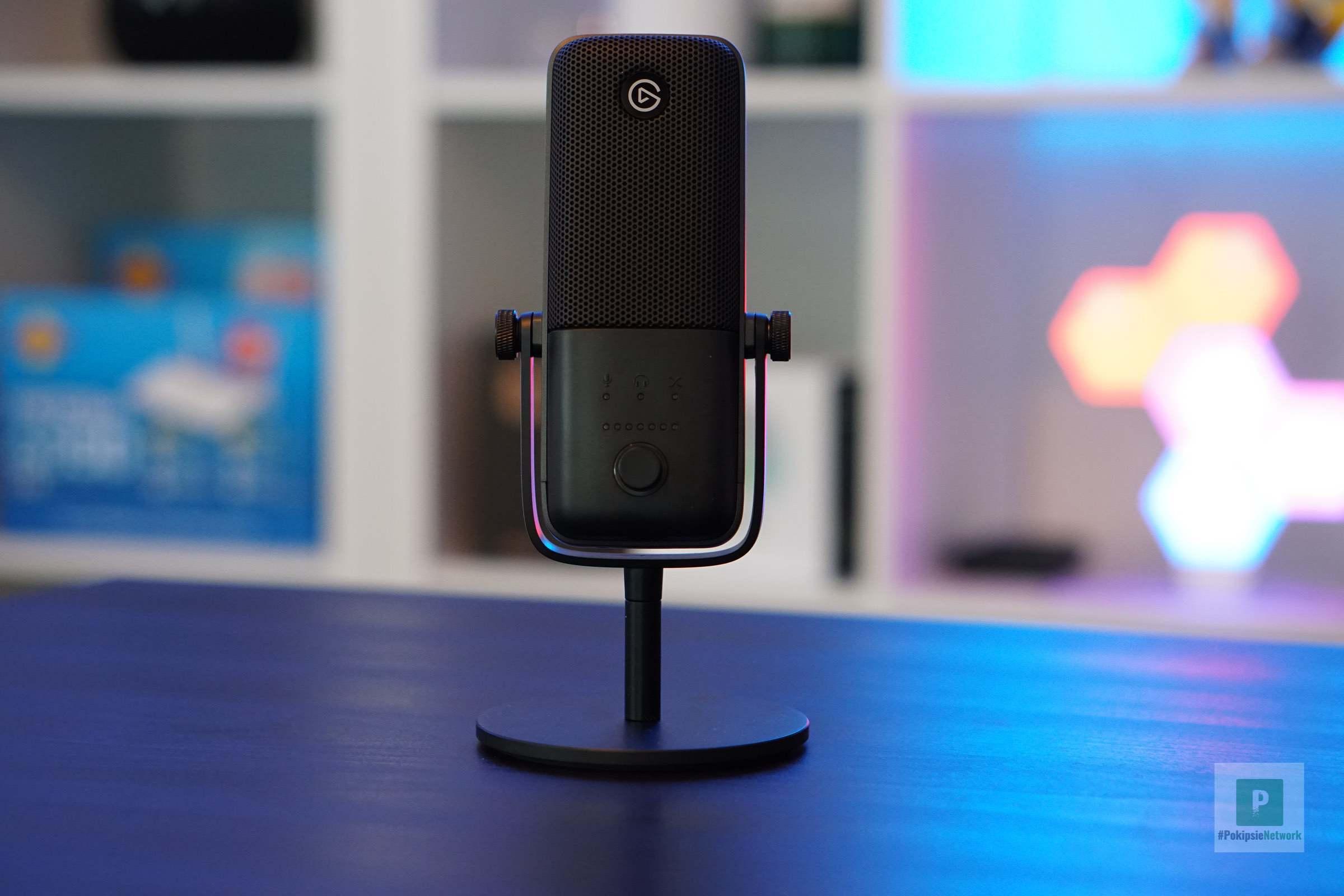 Mikrofon in seiner vollen Pracht