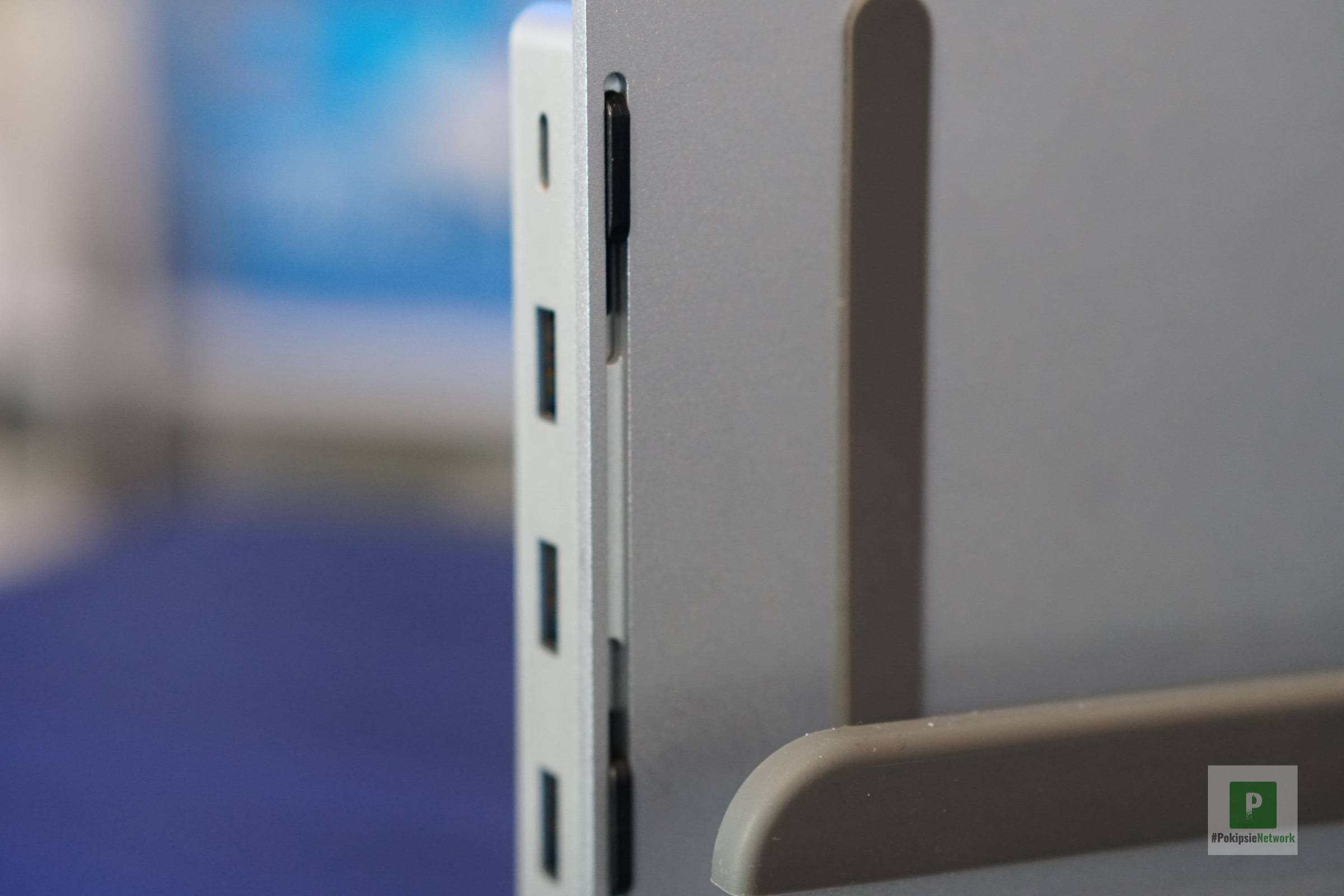 Das USB-C-Dock am VerticalStand