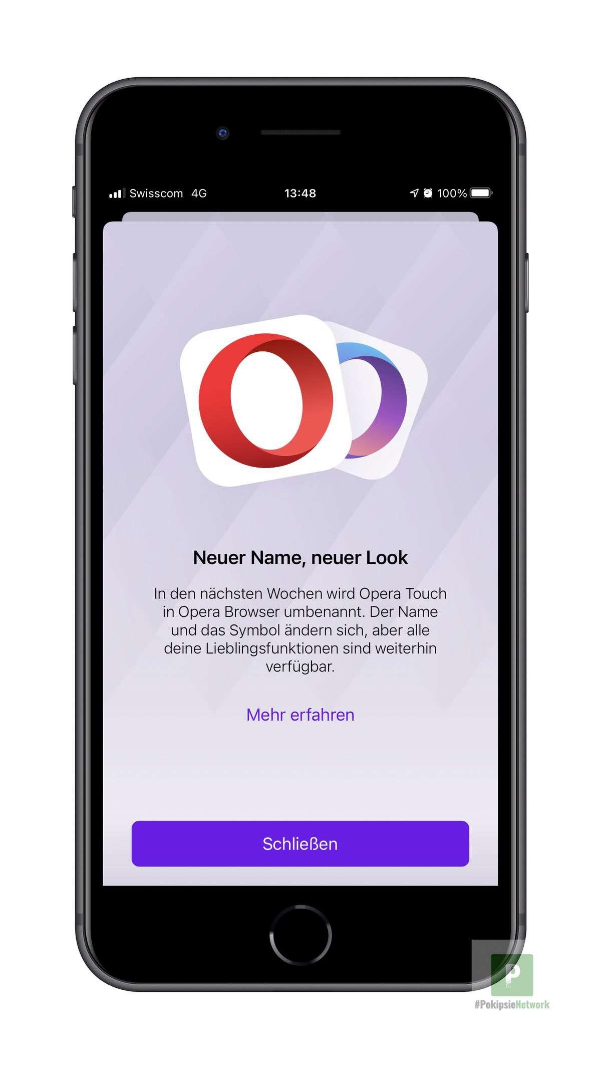 Opera feiert 3 Jahre iOS und geht zurück zu seinen Wurzeln