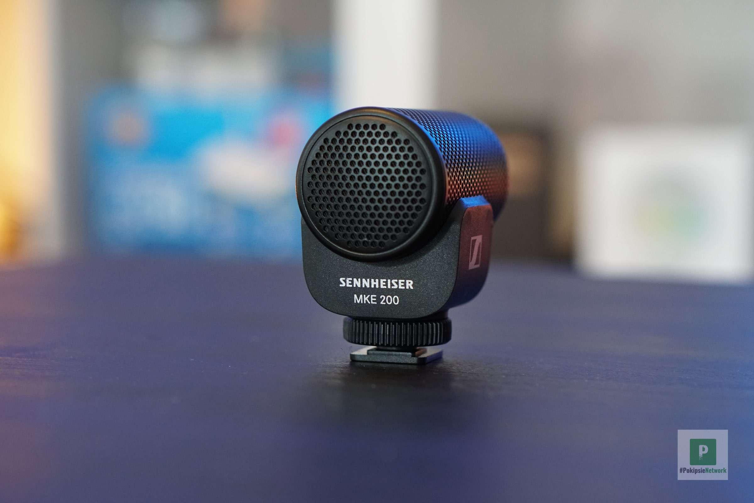 Das Mikrofon von hinten