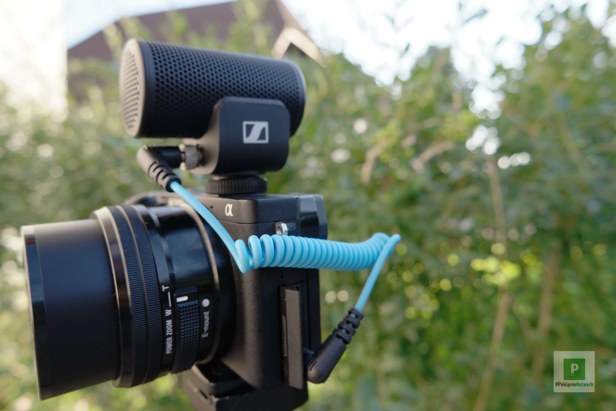 Mikrofon mit Kamera verbinden