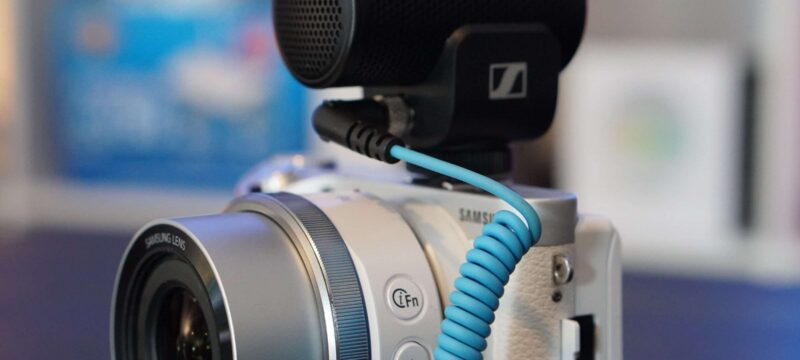 Kompaktes und Ausgezeichnetes Mikrofon