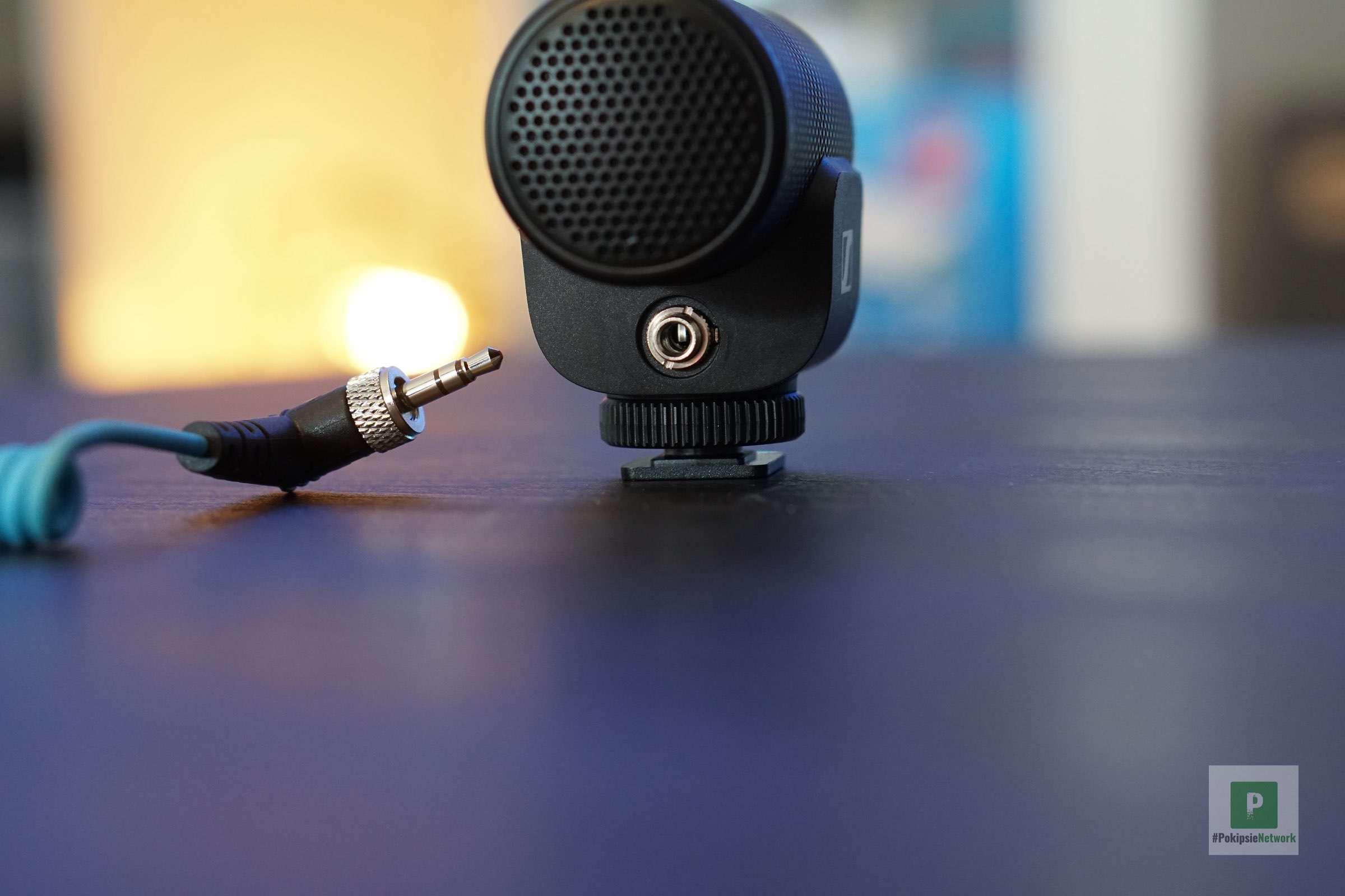 Der 3.5 mm Klinkenport an der Vorderseite
