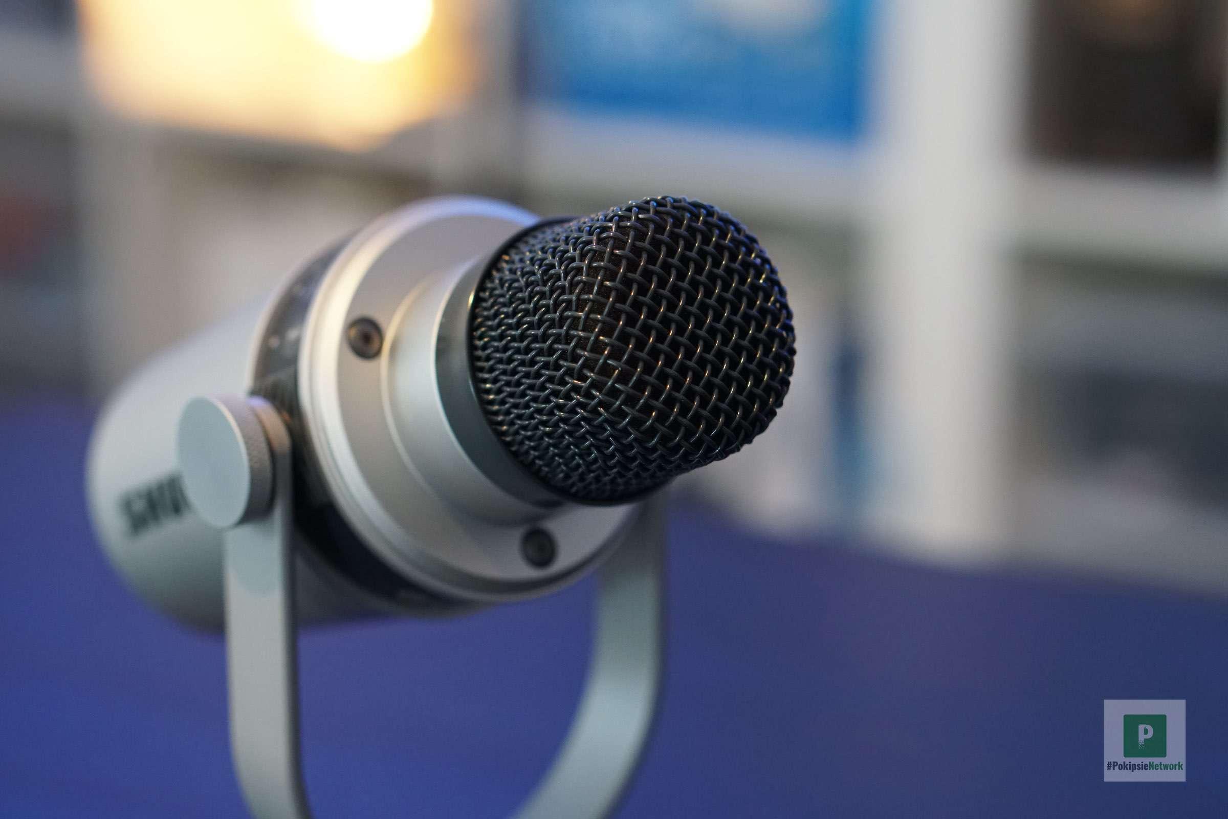 Mikrofon ohne Aufsatz