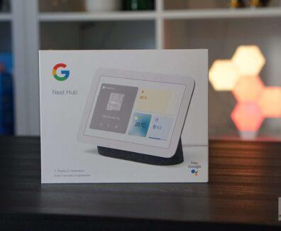 Google Sprachassistent mit Display