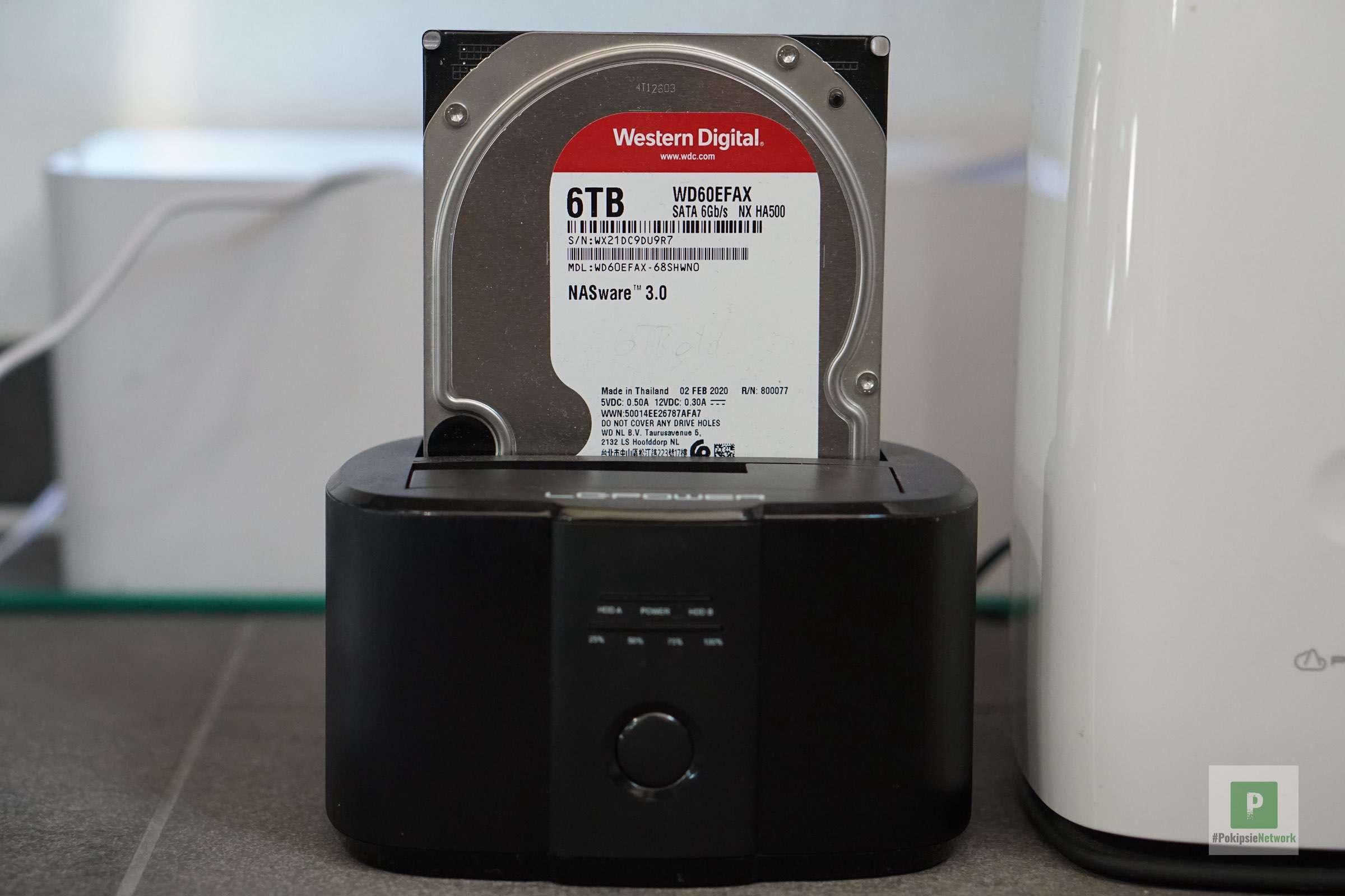 Mein Backup auf externen HDDs