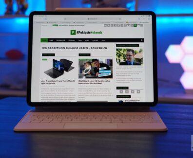 Die neue iPad Pro Tastatur