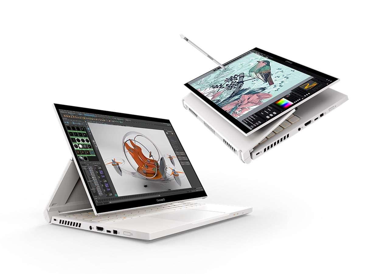 Acer ConceptD Creator-Notebooks mit neuen Innereien