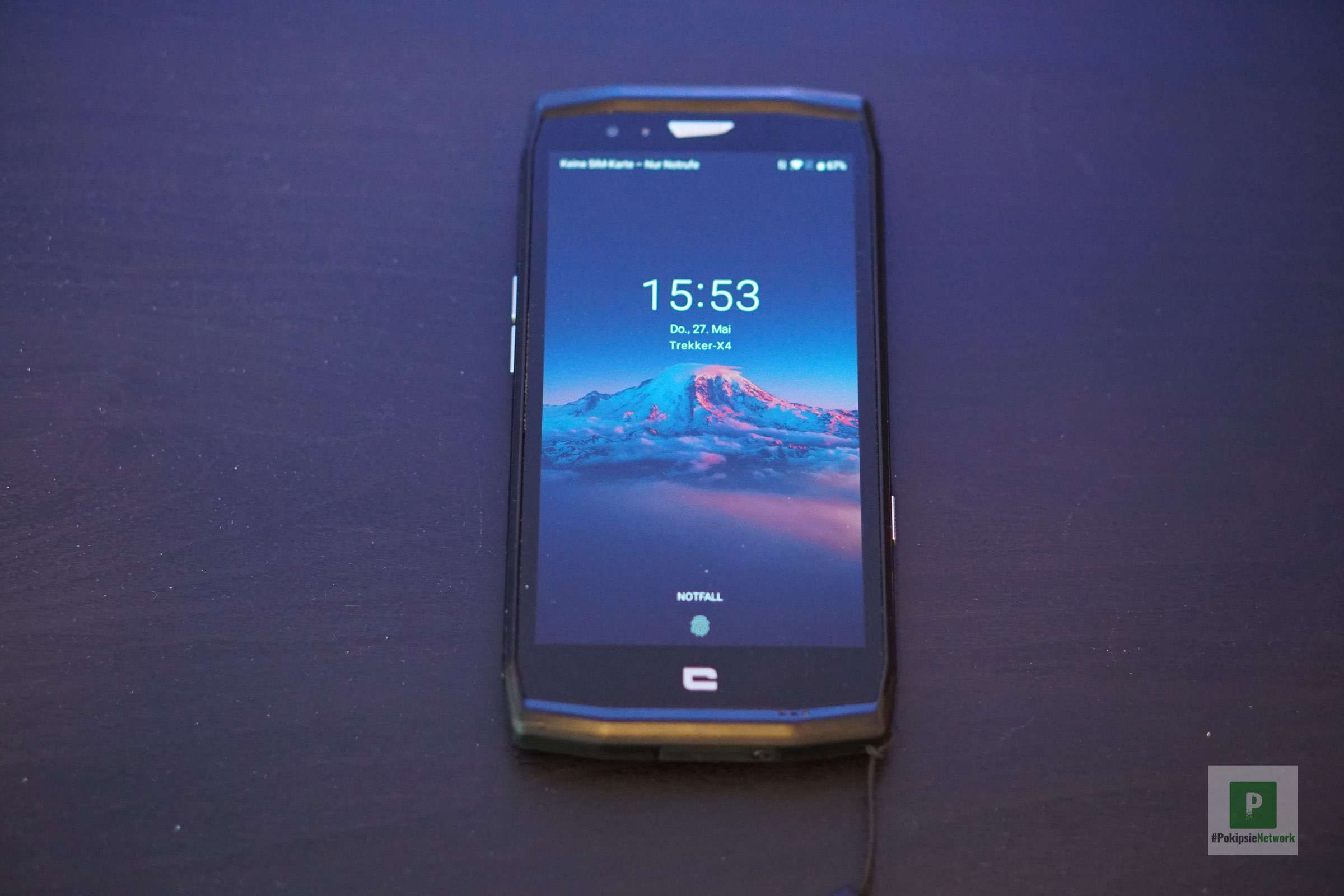 Das TREKKER-X4 Smartphone