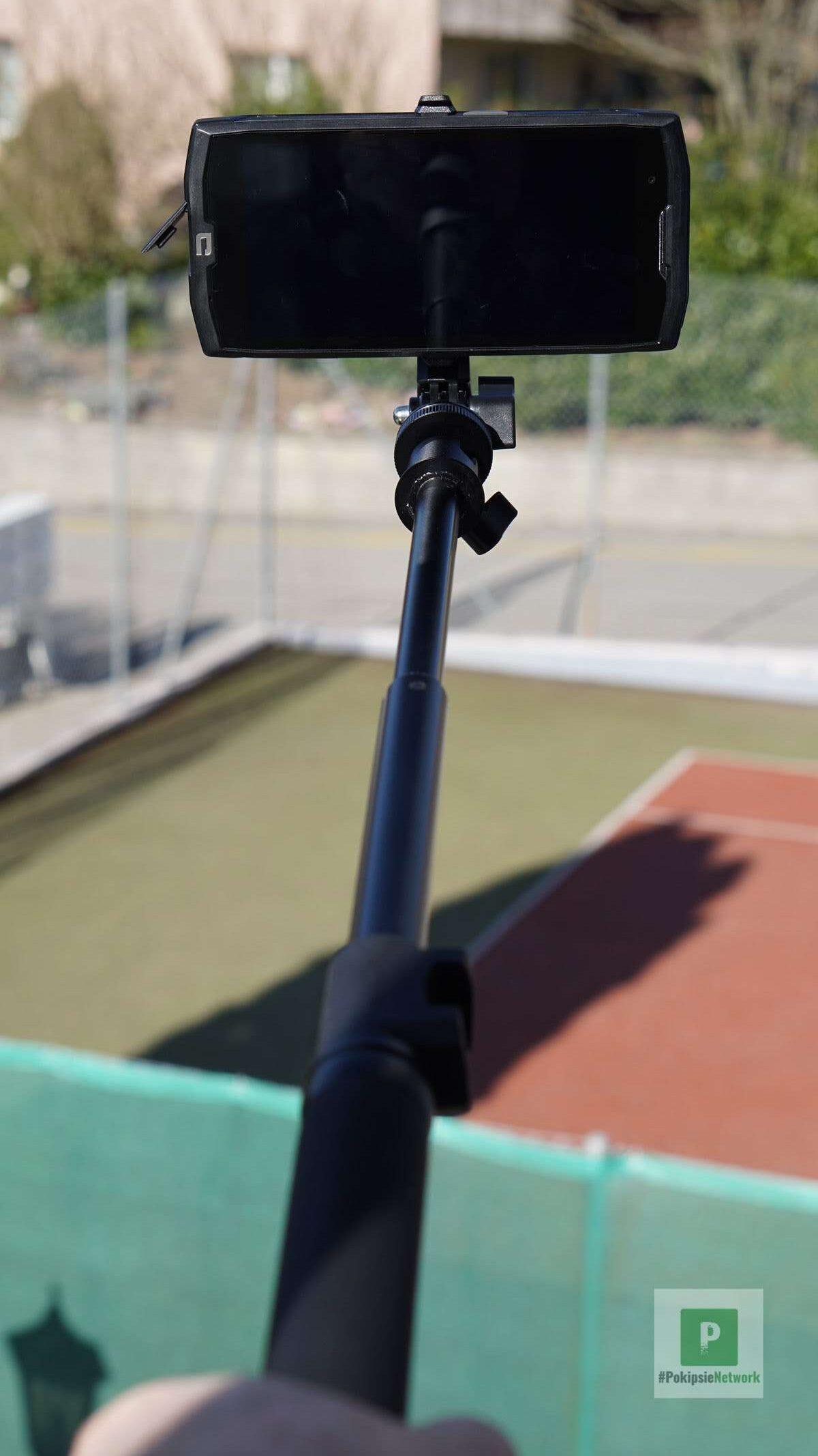 Der ausgefahrene Selfie-Stick