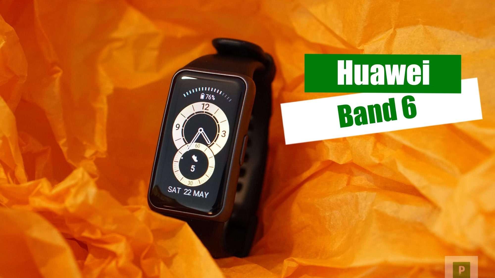 Video – Huawei Band 6