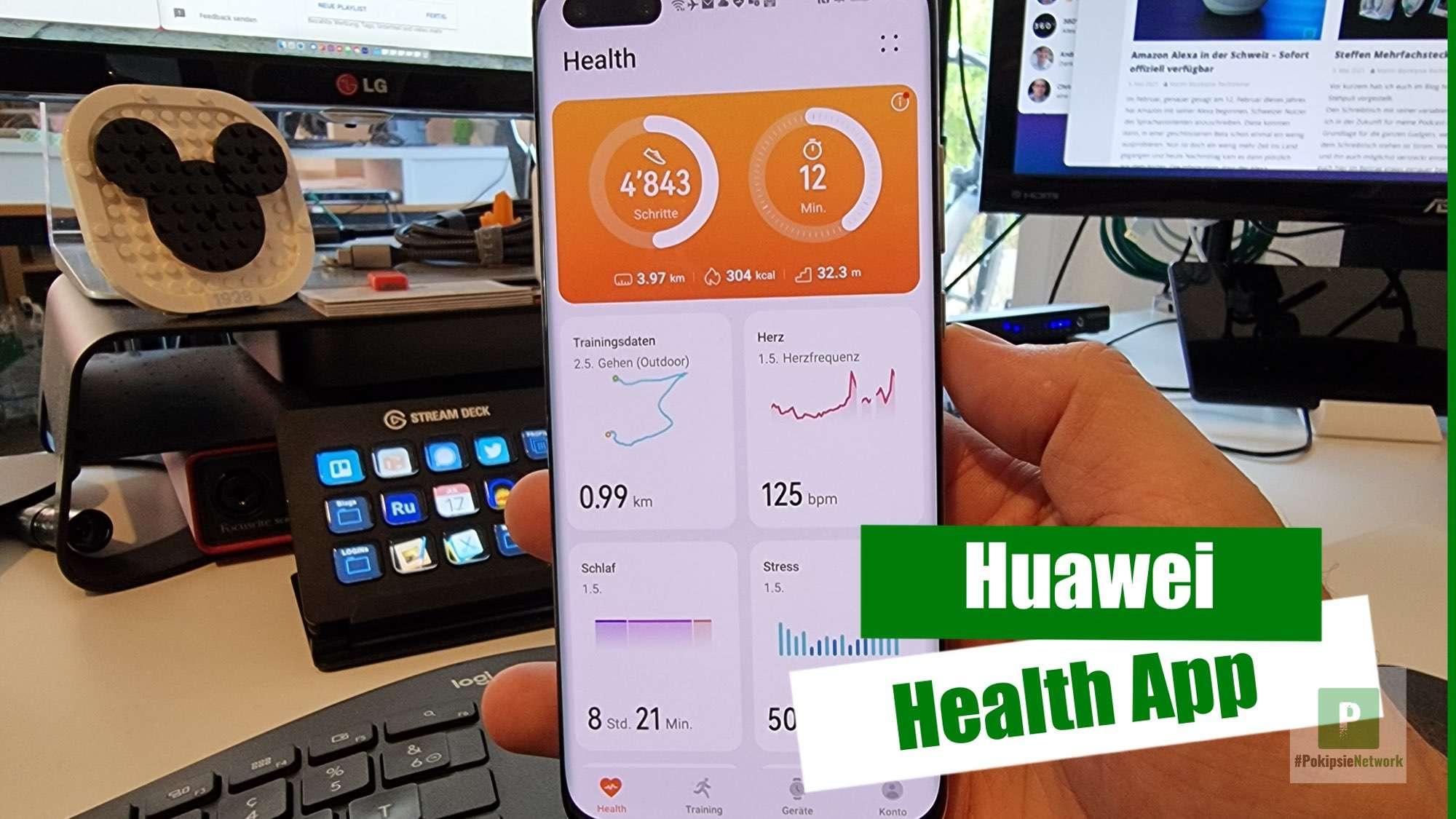 Video – Huawei Health
