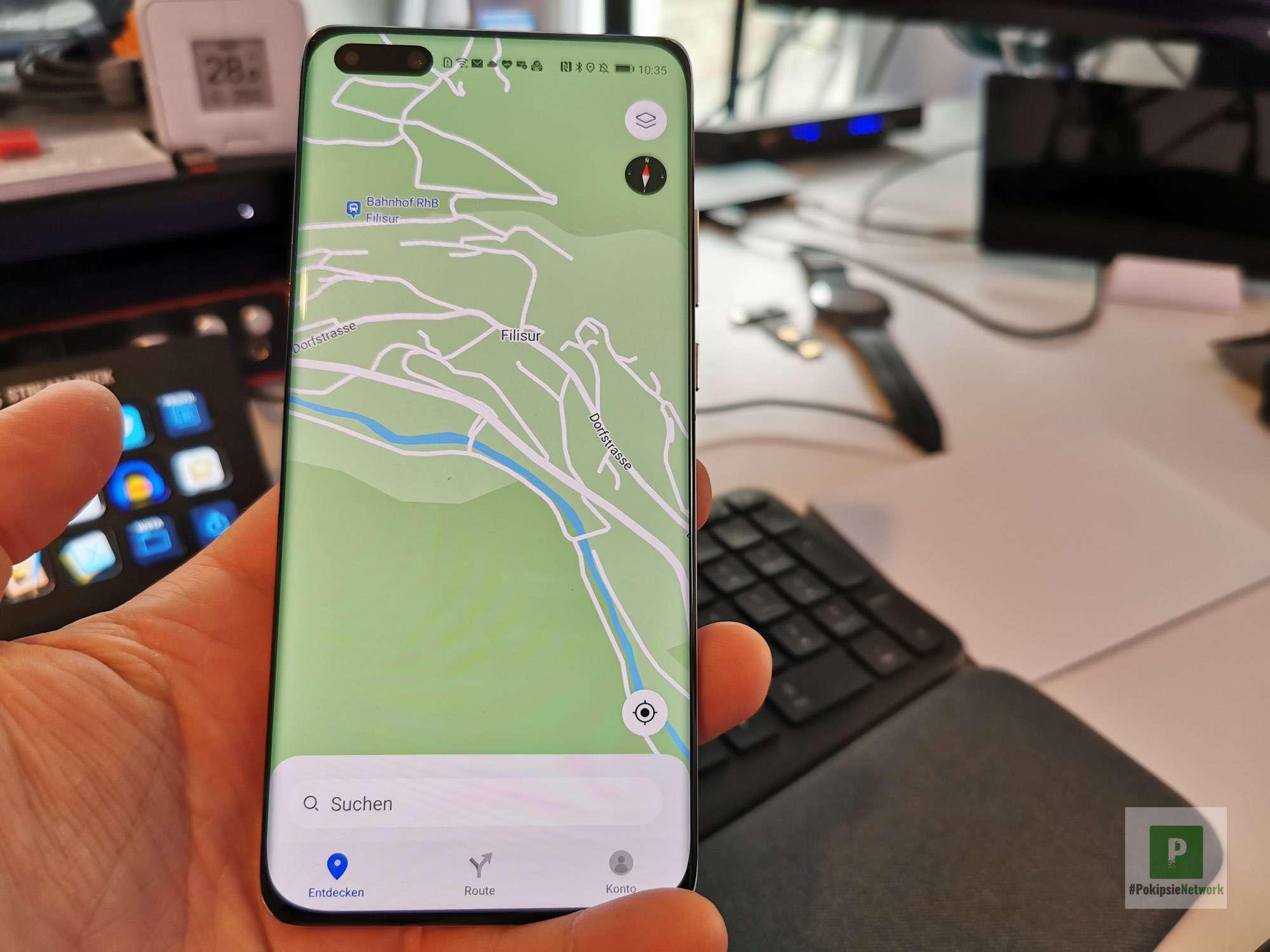 Huawei - Petal Maps - auf dem Lande