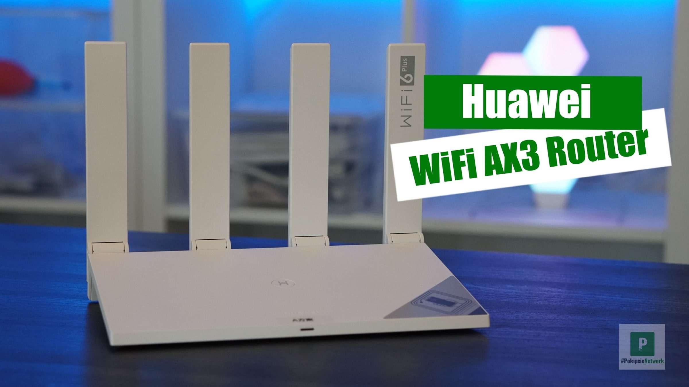 Video – HUAWEI WiFi AX3