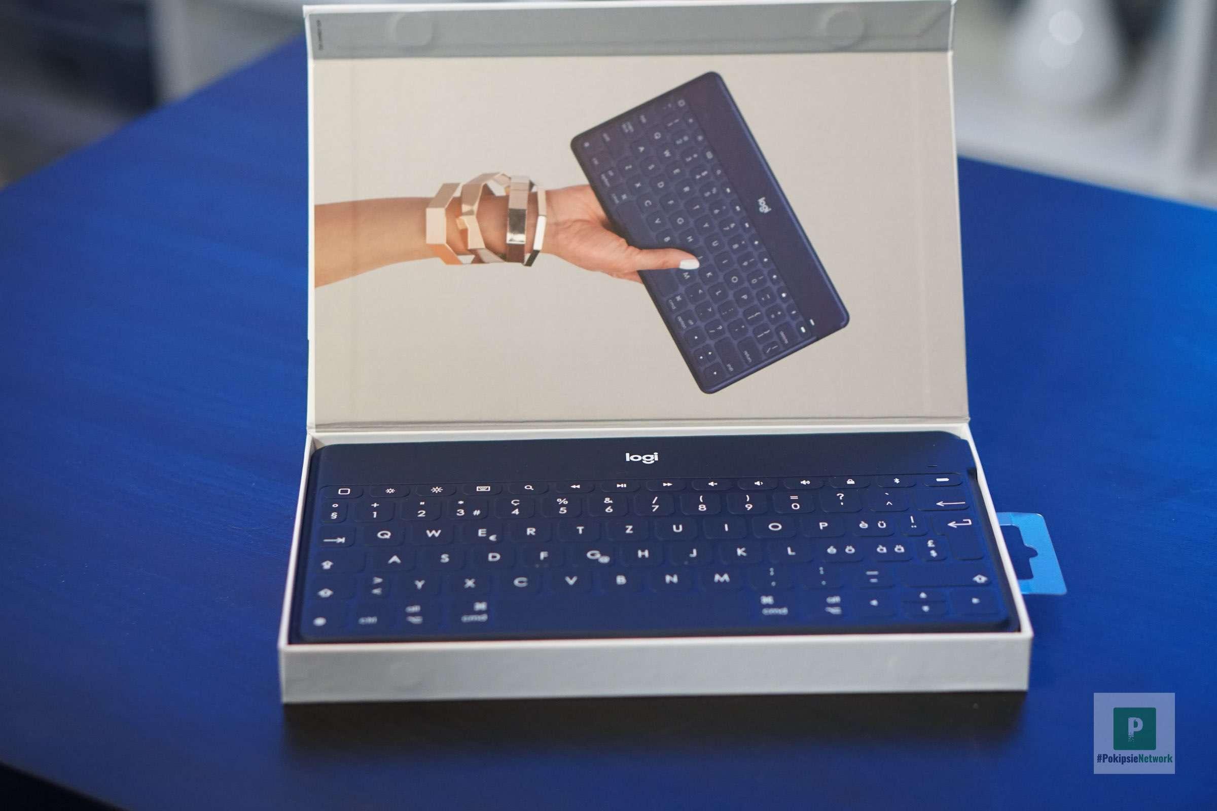 Deckel auf, Tastatur ist da