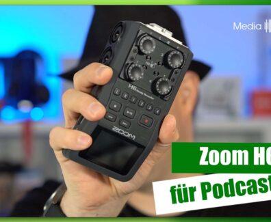 Zoom H6 – Für Podcaster
