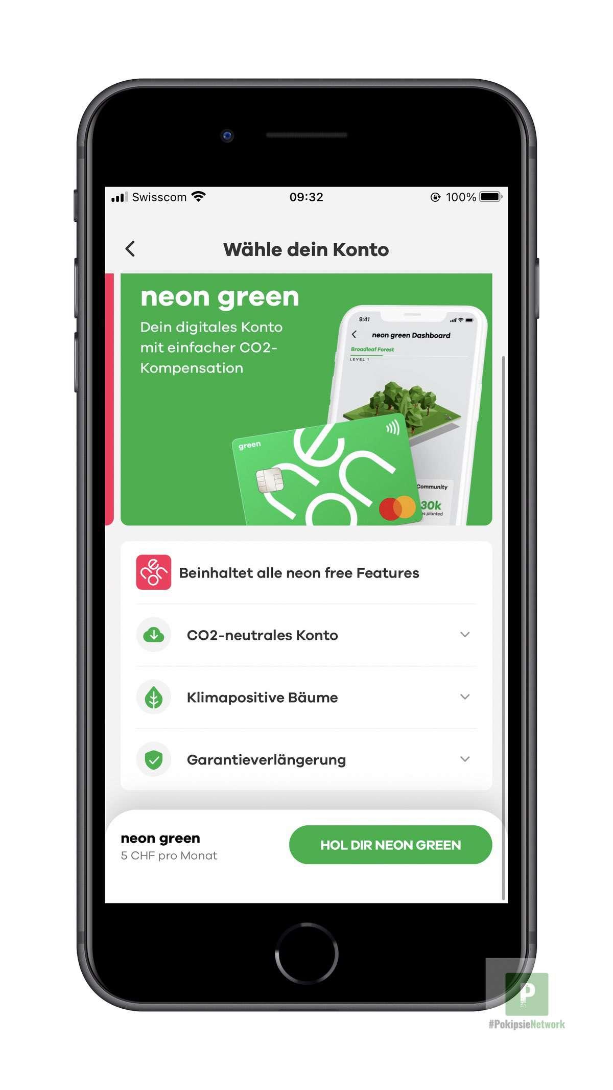 Neon Green – Fleissig neue Bäume Pflanzen