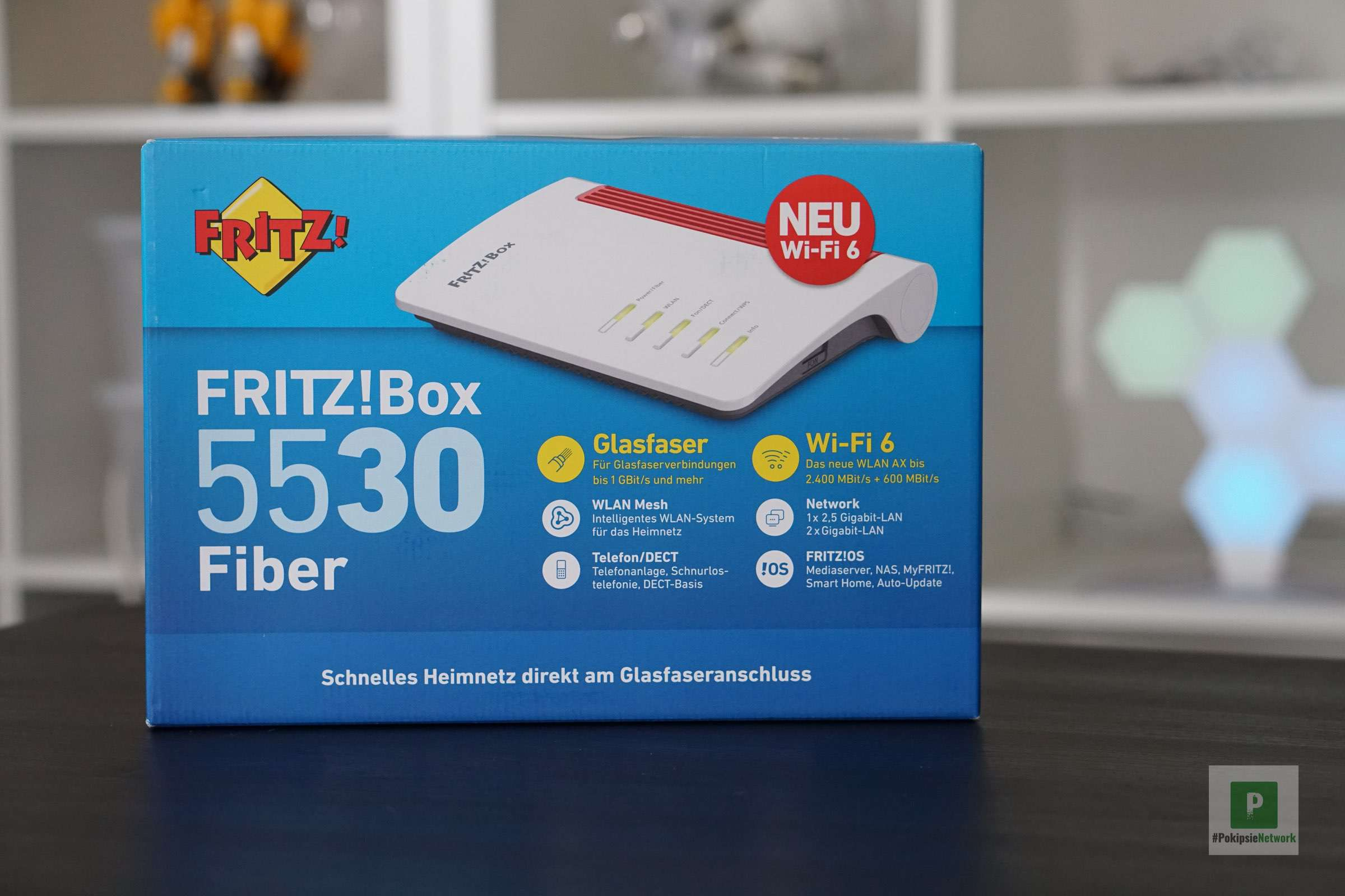 AVM FRITZ!Box 5530 Fiber AON in der Schweiz