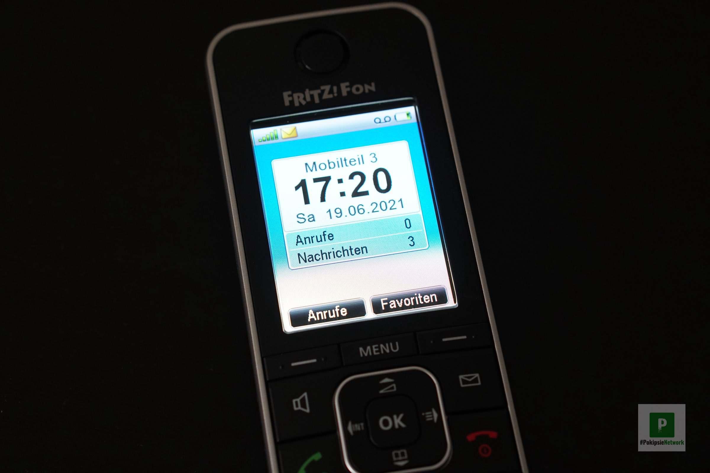 Das Telefon ist bereit