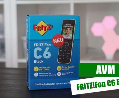 AVM – FRITZFon C6 Black