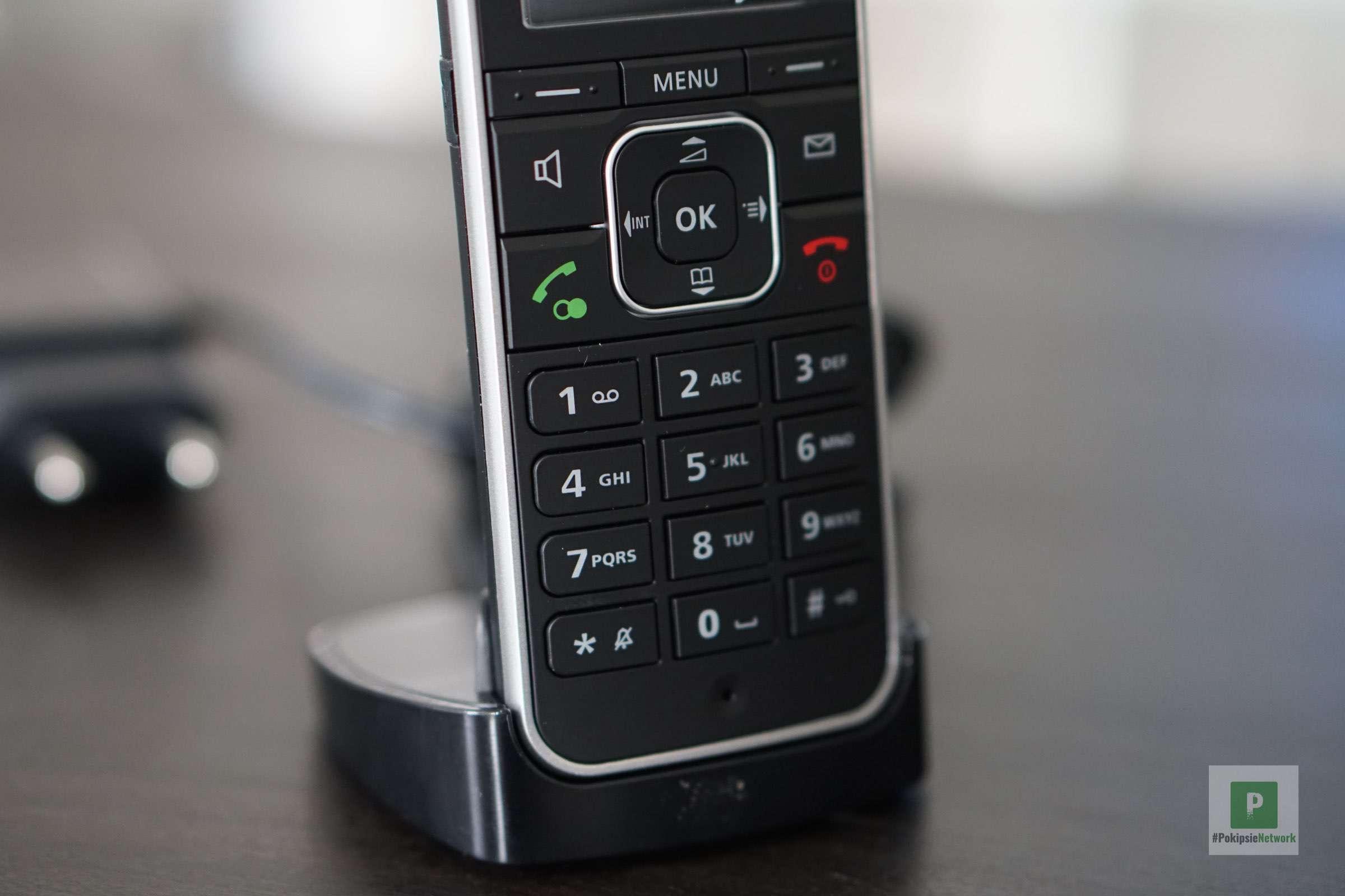 Die Tasten am Telefon