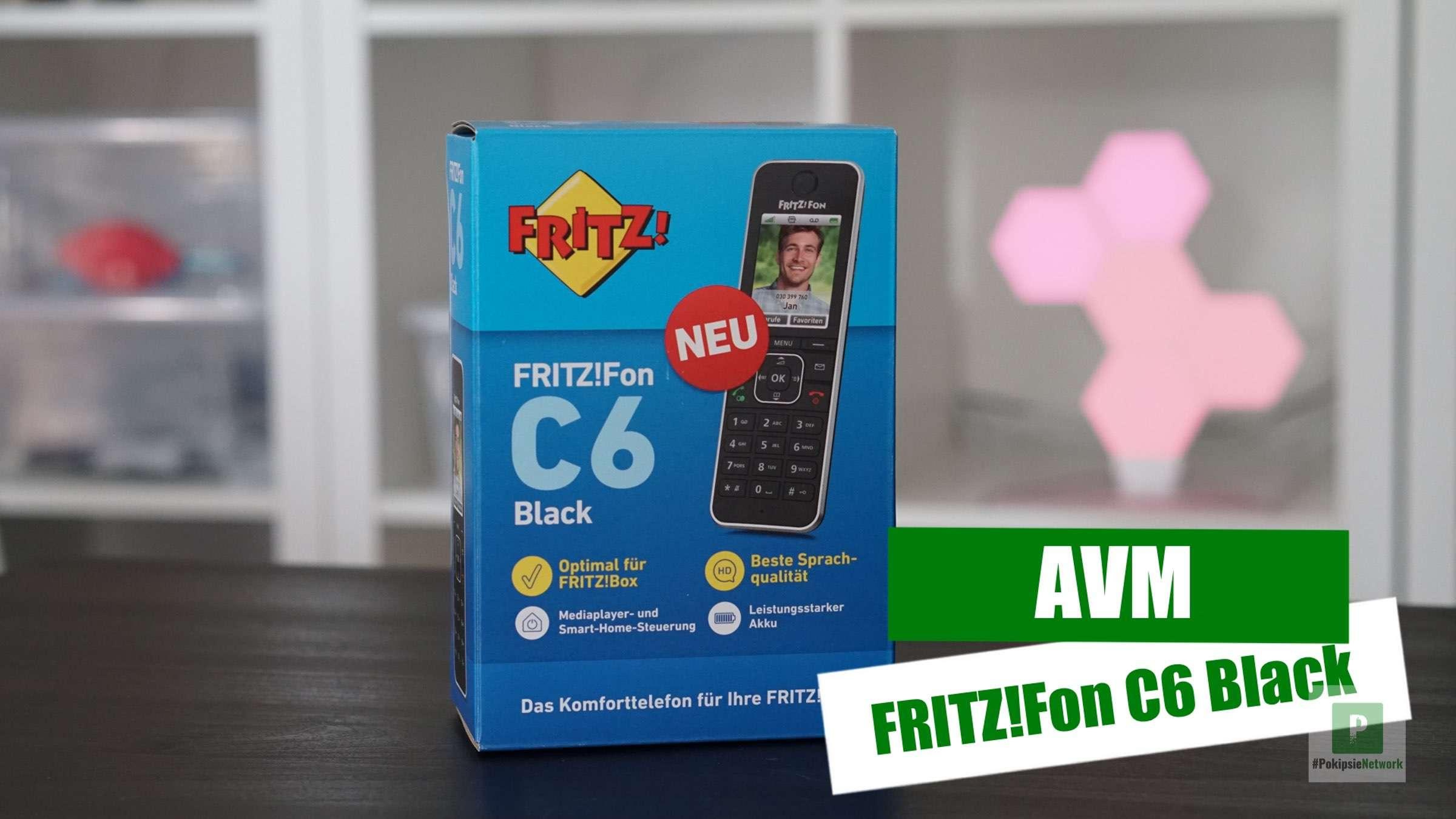 Video – AVM – FRITZ!Fon C6 Black