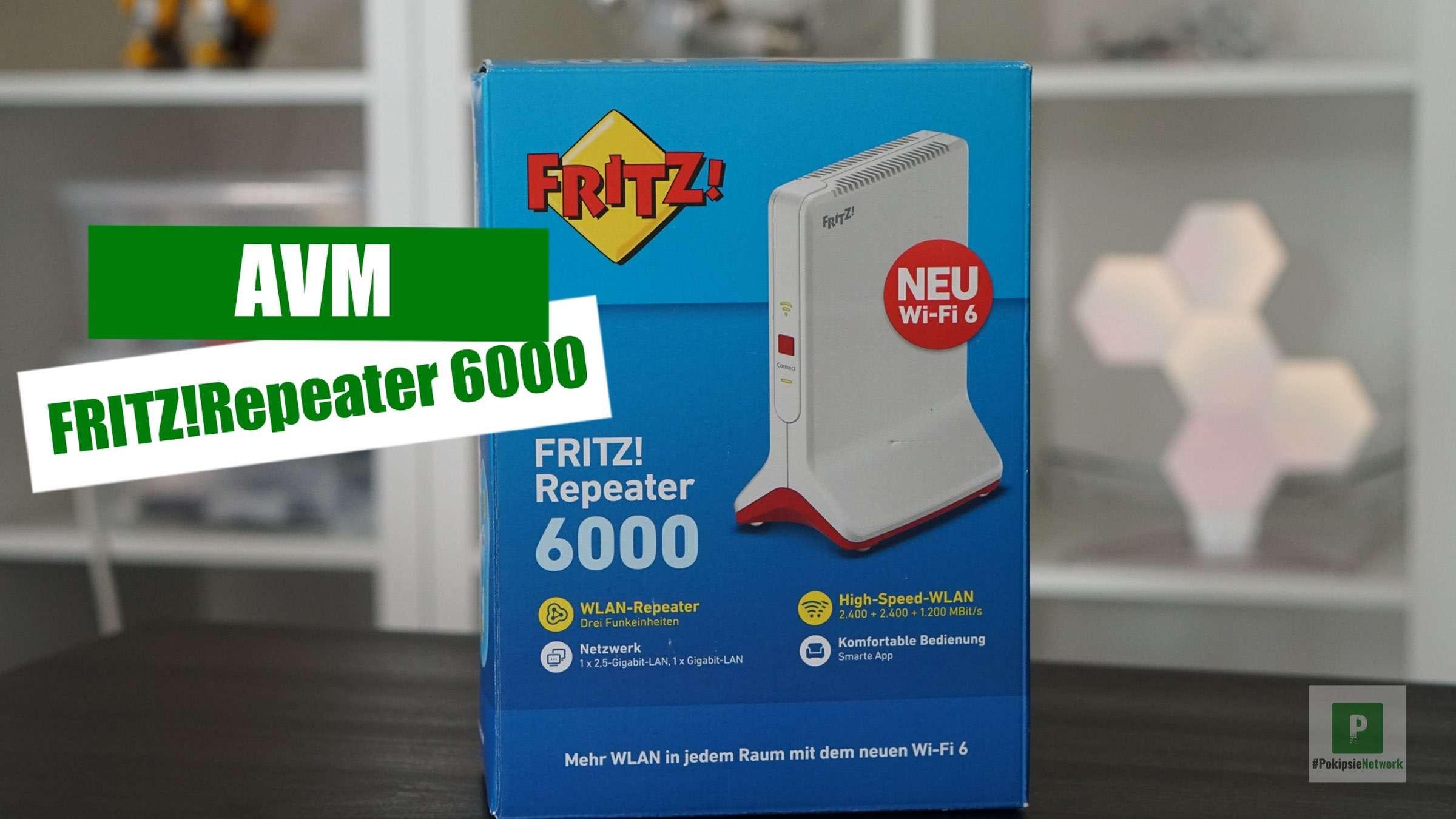 AVM - FRITZ!Repeater 6000