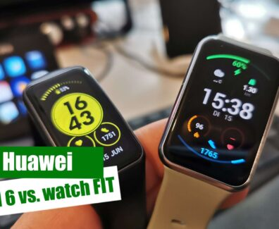 Huawei Band 6 vs watch FIT