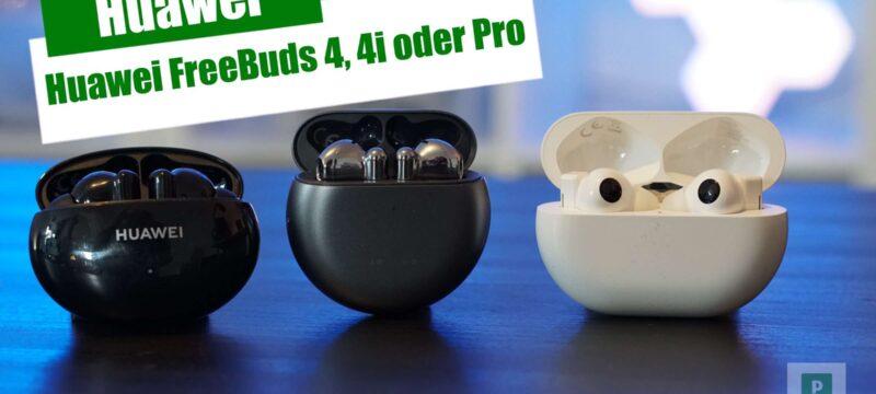 Huawei – FreeBuds 4i – FreeBuds 4 – FreeBuds Pro 2