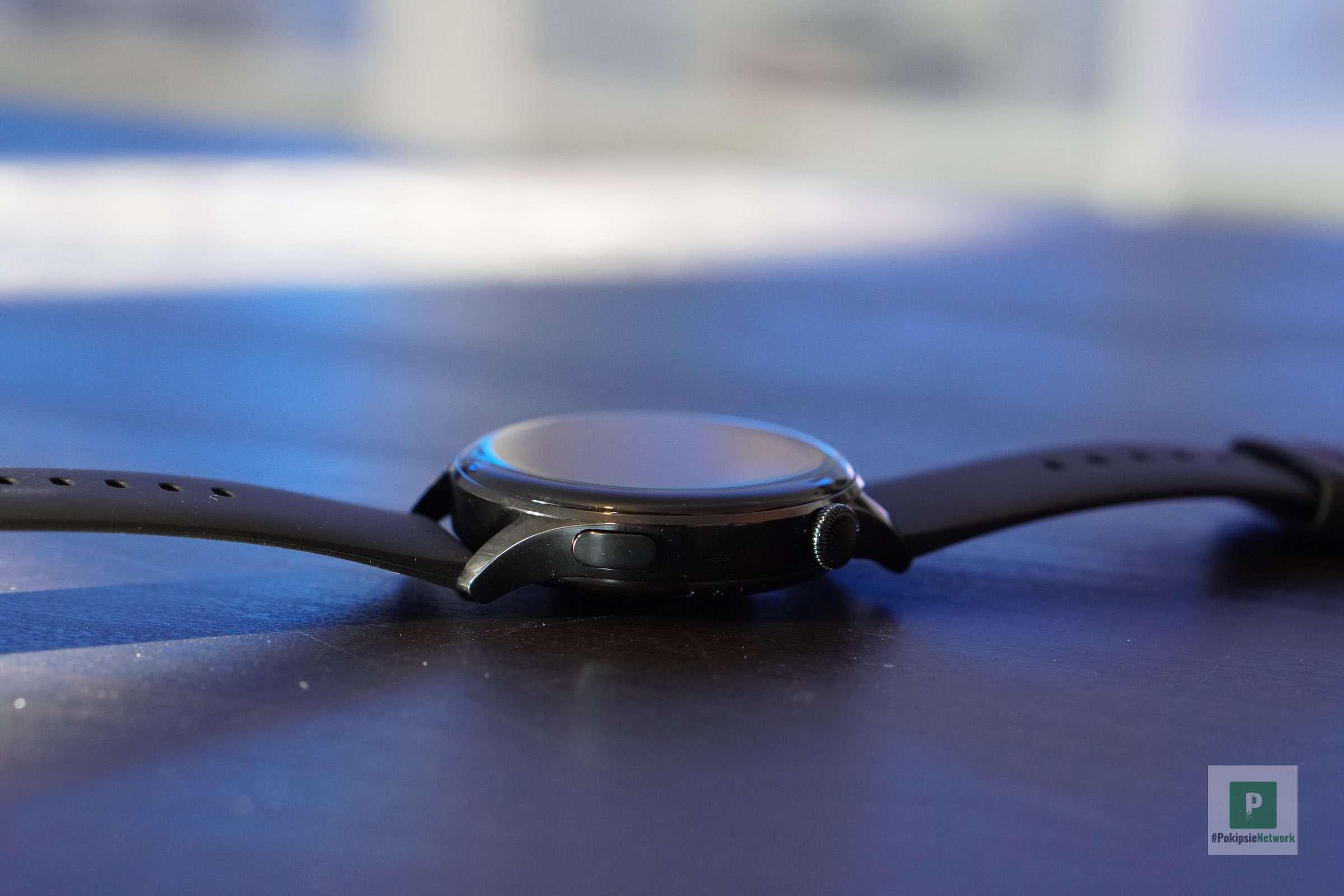 Die Smartwatch von der Seite