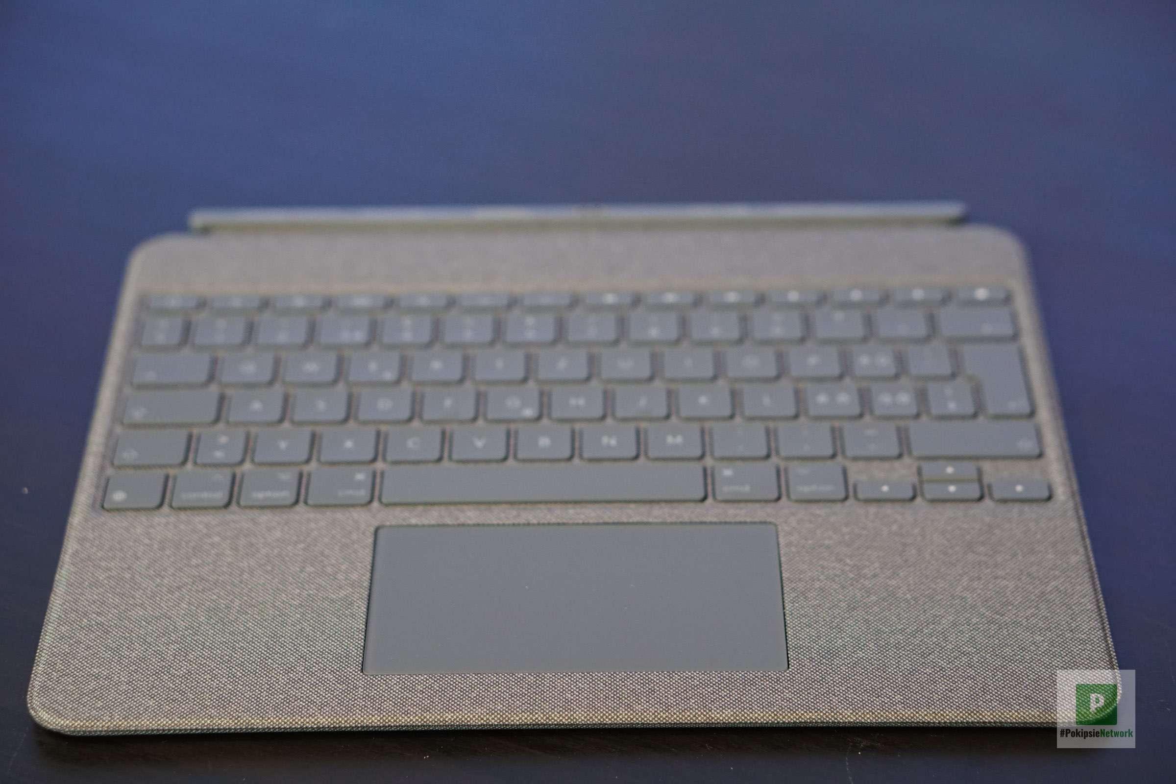 Eine abnehmbare Tastatur