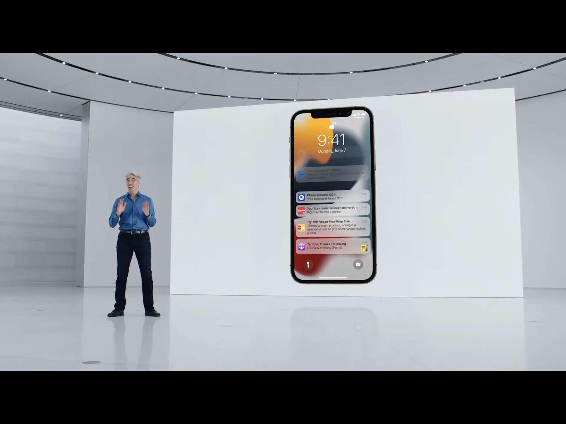 iOS 15 neue Notifications