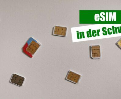 eSIM in der Schweiz