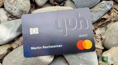 yuh Kreditkarte