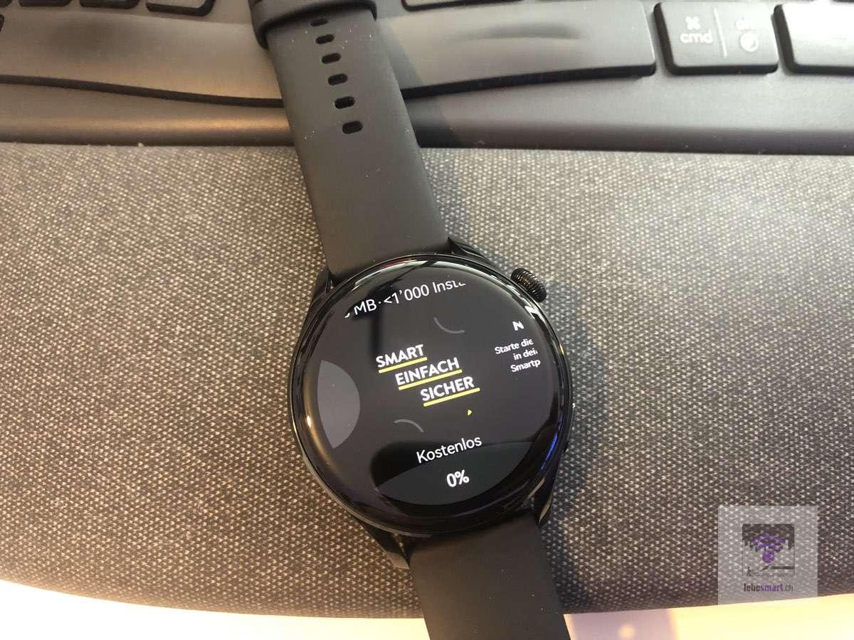 Nuki App mit meiner Huawei Smartwatch aufschliessen